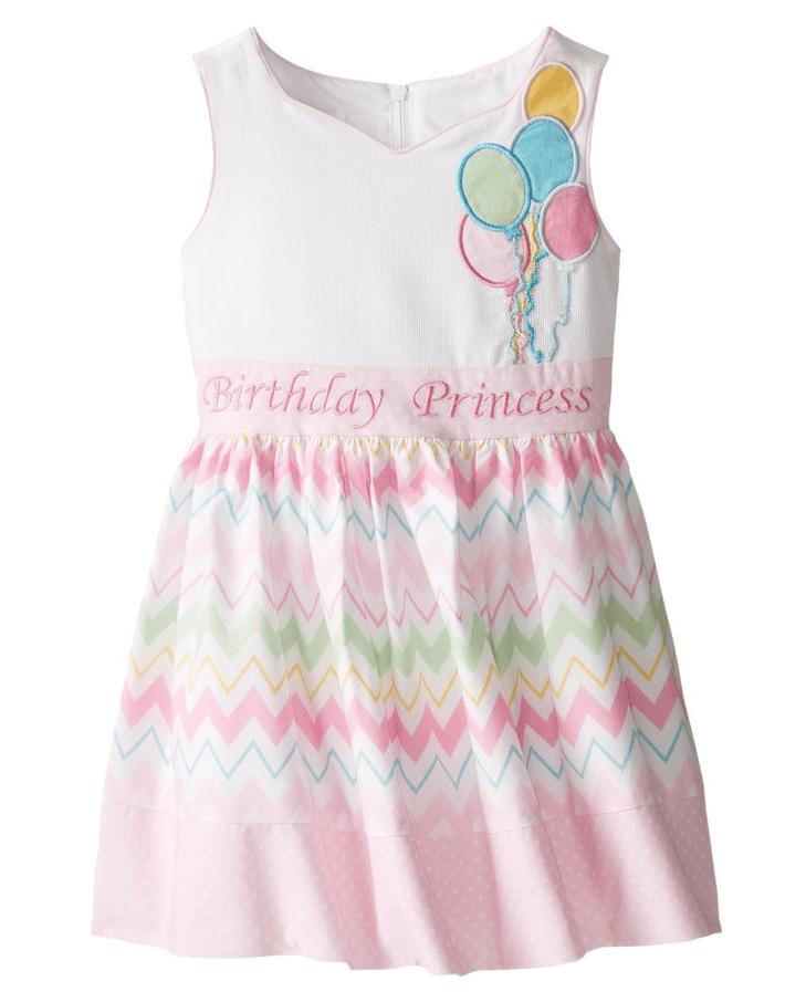 Bonnie Jean Baby Girls Princess Balloons Bow Birthday Pink Dress 24 Months