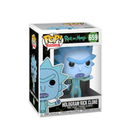 Funko POP! Animation: Rick & Morty - Hologram Rick Clone