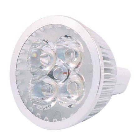 DC 12V 4W MR16 4 LEDs COB Spotlight Bulb Energy Saving Downlight Cool White