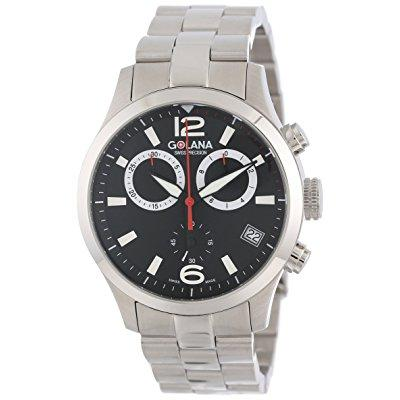 Golana swiss men's ae200-2 aero pro 200 quartz chronograp...