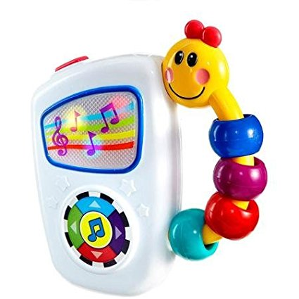 Take Along Tunes Musical Toy 2Pack, Large button toggles through 7 high-quality classical... by