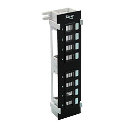 PatchPanel Blank 8Port Vertical Flush, PATCH PANEL- BLANK-VERTICAL-8-PORT FLUSH By ICC