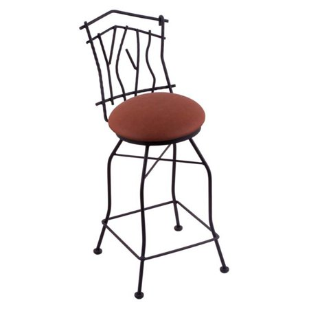 Awe Inspiring Holland Bar Stool Aspen 30 In Swivel Bar Stool With Faux Leather Seat Black Wrinkle Pdpeps Interior Chair Design Pdpepsorg