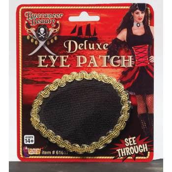 Buccaneer Beauty Eyepatch Halloween Costume Accessory - Banger Beauty Halloween