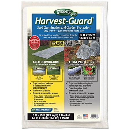 Dalen HG25 Gardeneer By Harvest-Guard Seed Germination & Frost Protection Cover 5' x
