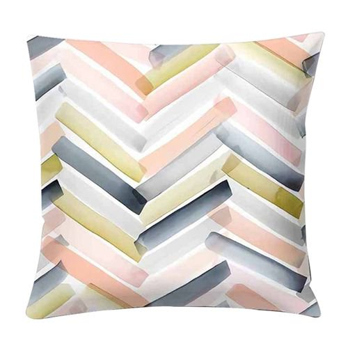 Kaboer Modern Abstract Pillow Cover Art Geometric Cushion Cover Color Diamond Pillowcase Sofa Home Decorative Throw Pillow Walmart Com Walmart Com
