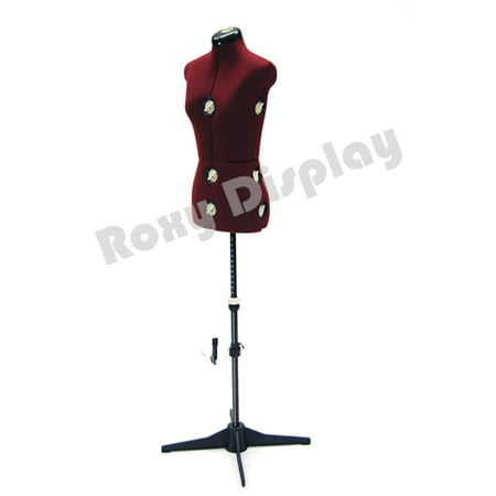 Female Adjustable Sewing Dress Form Mannequin Torso Stand Small Size #JF-FH-2 ()