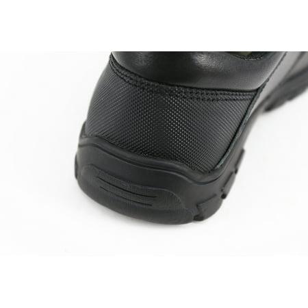 HapHappystep® Genuine Leather Toddler Little Boy School Uniform Dress Formal Shoes Monk Strap (Black) 1 Pair - image 6 of 7
