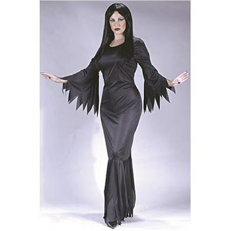 Adult Madam Morticia Costume FunWorld 9935](Morticia Halloween Costume)