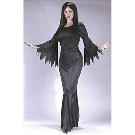 Adult Madam Morticia Costume FunWorld 9935](Morticia Halloween Costumes)