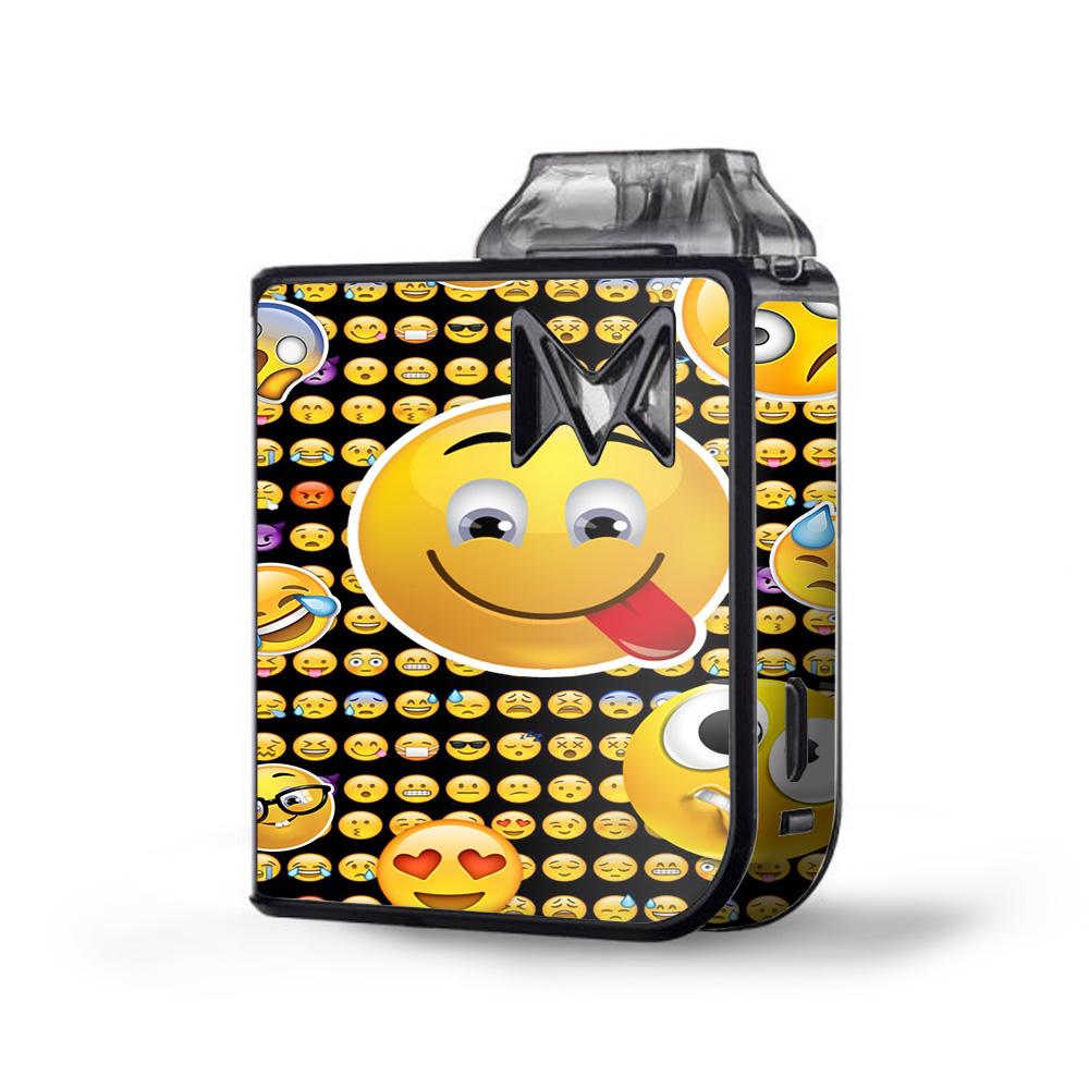 Skin Decal Vinyl Wrap for SV Mi-Pod kit Vape skins stickers cover/ Silly Emojis