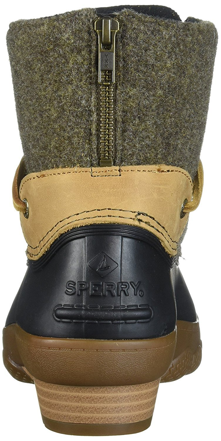 9286a1930309 Sperry Top-Sider - Sperry Top-Sider Women s Saltwater Wedge Tide Wool Rain  Boot