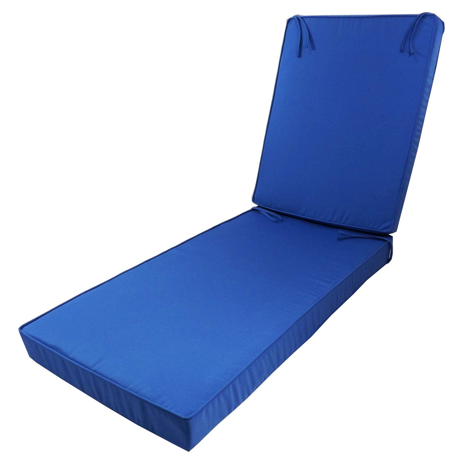 - Cushion Pros Sunbrella Deep Seating Chaise Lounge Cushion