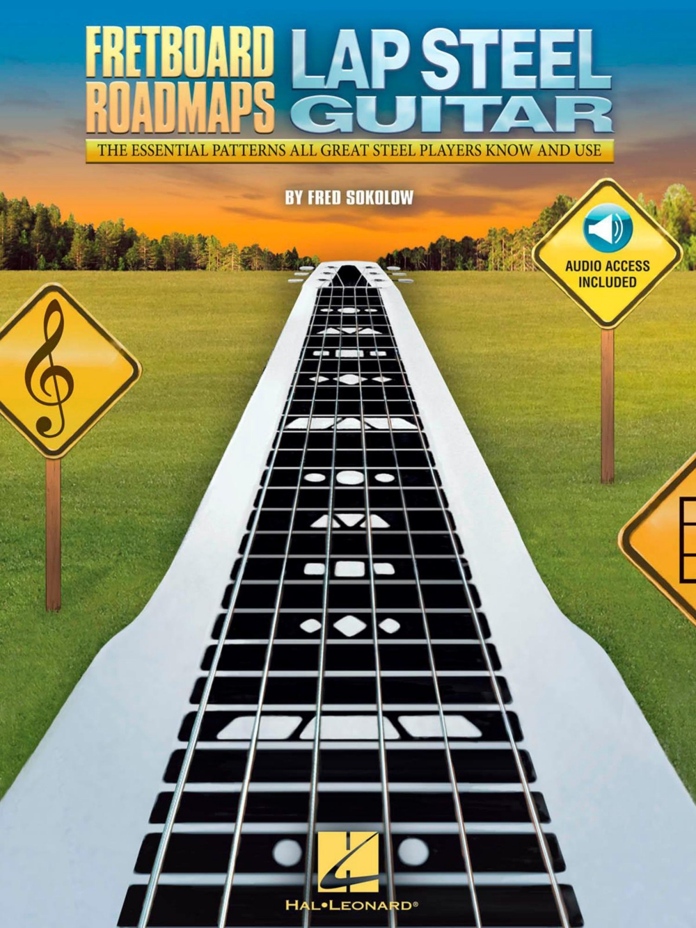 Hal Leonard Fretboard Roadmaps Lap Steel Guitar (Book Audio Online) by Hal Leonard