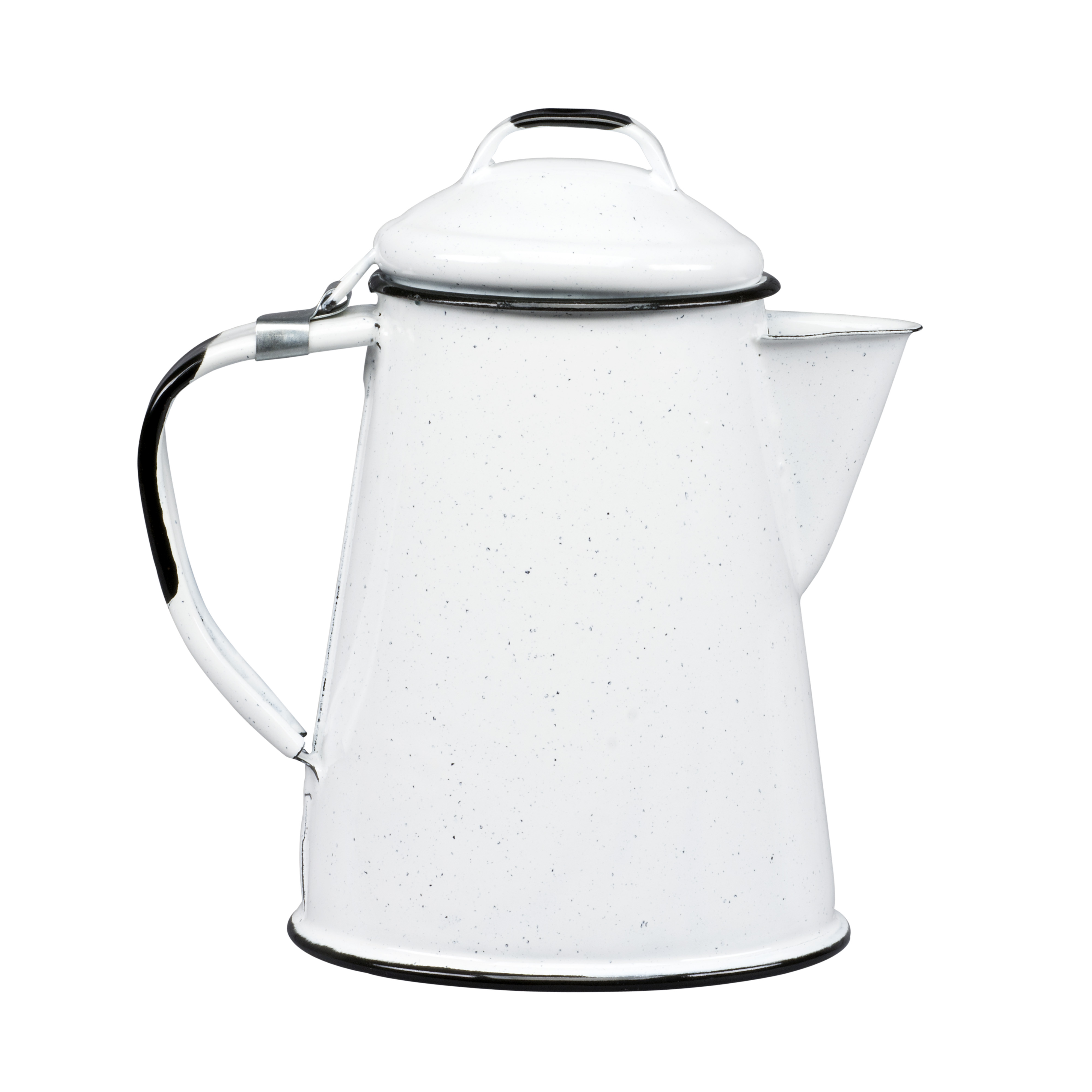 Cinsa White Coffee Pot, 8 Piece