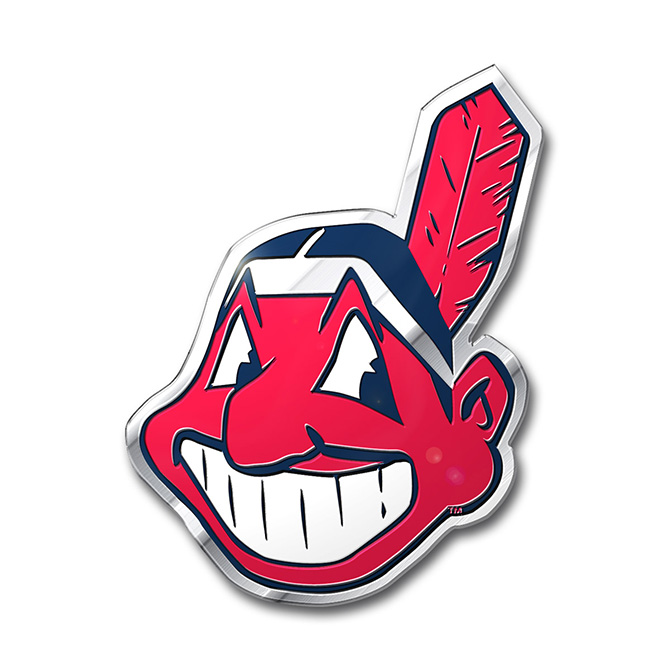 MLB Cleveland Indians Color Emblem