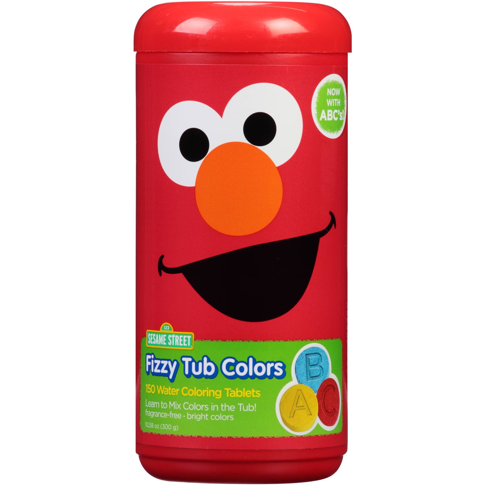 Sesame Street Fizzy Tub Colors Water Coloring Tablets  150 count  10 58 oz    Walmart com. Sesame Street Fizzy Tub Colors Water Coloring Tablets  150 count