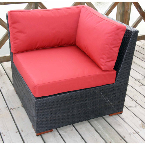 Nevis Sectional Corner, Red