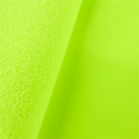 Neon Yellow Soft Shell Fleece, Fabric By the (Neon Soft Shell)