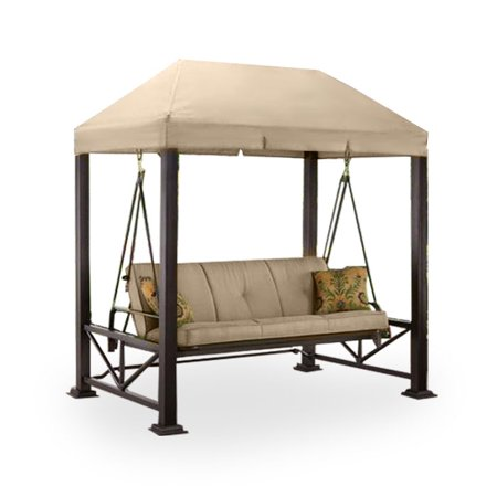 Garden Winds Replacement Canopy Top for Sullivan Point Swing - Riplock