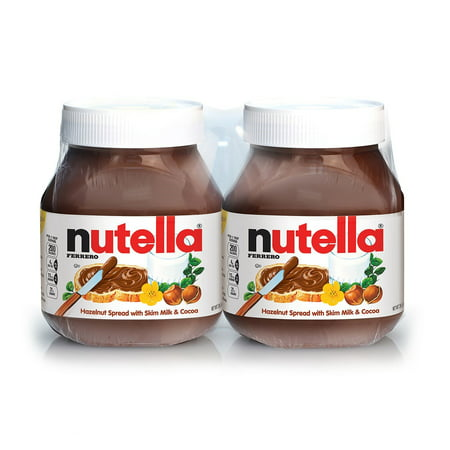 - Nutella Hazelnut Spread, 26.5 Oz, 2 Ct