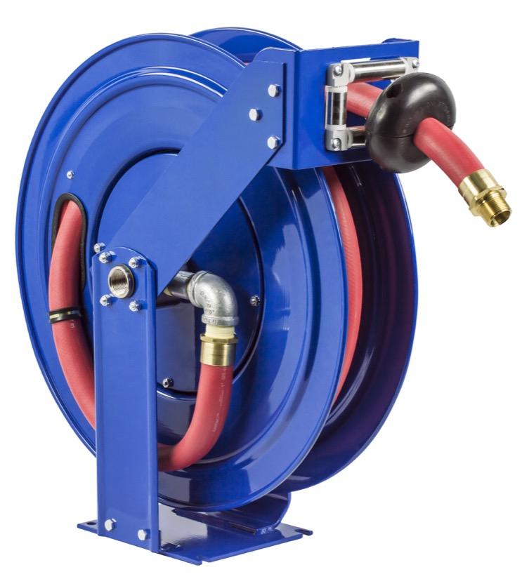 "COXREELS TSHF-N-650 Supreme Duty Fuel Hose Reel 1"" x 50' w  hose 300 PSI by Hose Reels"