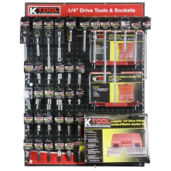 "1/4"" DRIVE TOOLS & SOCKETS DISPLAY"