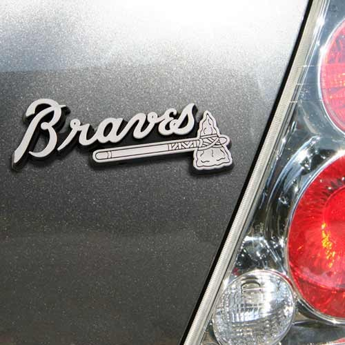 Atlanta Braves Auto Emblem - No Size