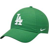 Los Angeles Dodgers Nike St. Patrick's Day Heritage 86 Stadium Adjustable Hat - Green - OSFA