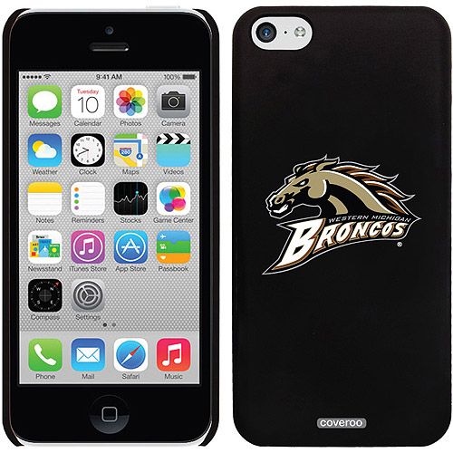 Western Michigan Primary Mark Design on iPhone 5c Thinshield Snap-On Case by Coveroo