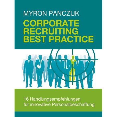Corporate Recruiting Best Practice - eBook