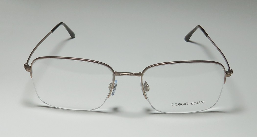 ee35b7c43bc New Giorgio Armani 5043 Mens Designer Half-Rim Taupe Frame Demo Lenses 56-19-150  Eyeglasses Eyeglass Frame - Walmart.com