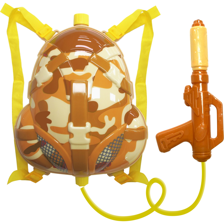 MiliStar Little Soldier Backpack Water Gun - Desert