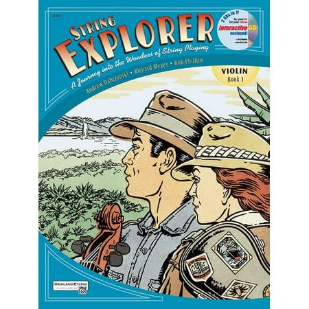 Alfred String Explorer (String Explorer: String Explorer, Bk 1: Violin, Book & Interactive CD (Paperback))