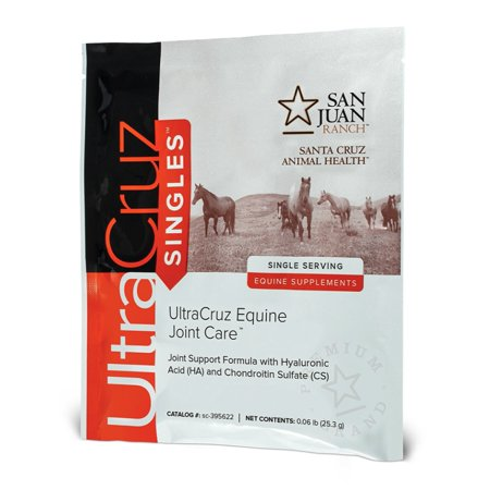 (UltraCruz Horse Joint Care Supplement, 120 single servings, pellets (60 day supply))