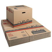 """Pen+Gear Medium Extra Strength Recycled Moving and Storage Boxes, 19"""" L x 14"""" W x 17"""" H, Kraft, 15 Count"""