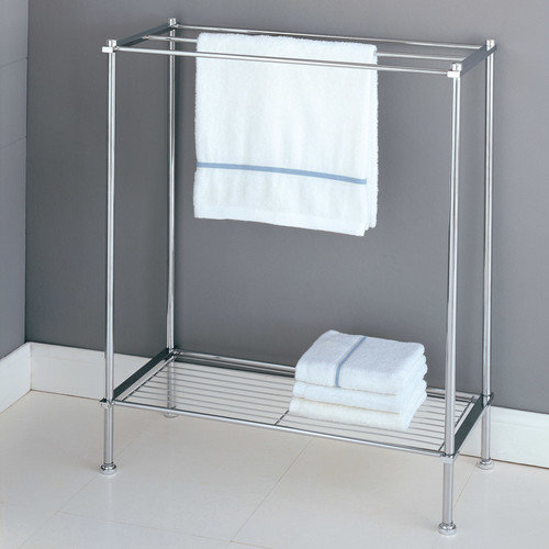 Organize It All Metro Freestanding Towel Rack