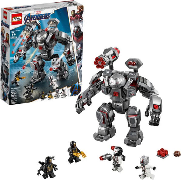 LEGO Marvel Avengers War Machine Buster 76124 Marvel Universe Avengers Toy