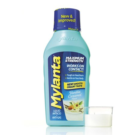 Mylanta Maximum Strength, Vanilla Caramel Flavor, 12 (Mylanta Maximum Strength)