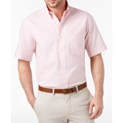 Light Mens Oxford One Pocket Dress Shirt 17 1/2