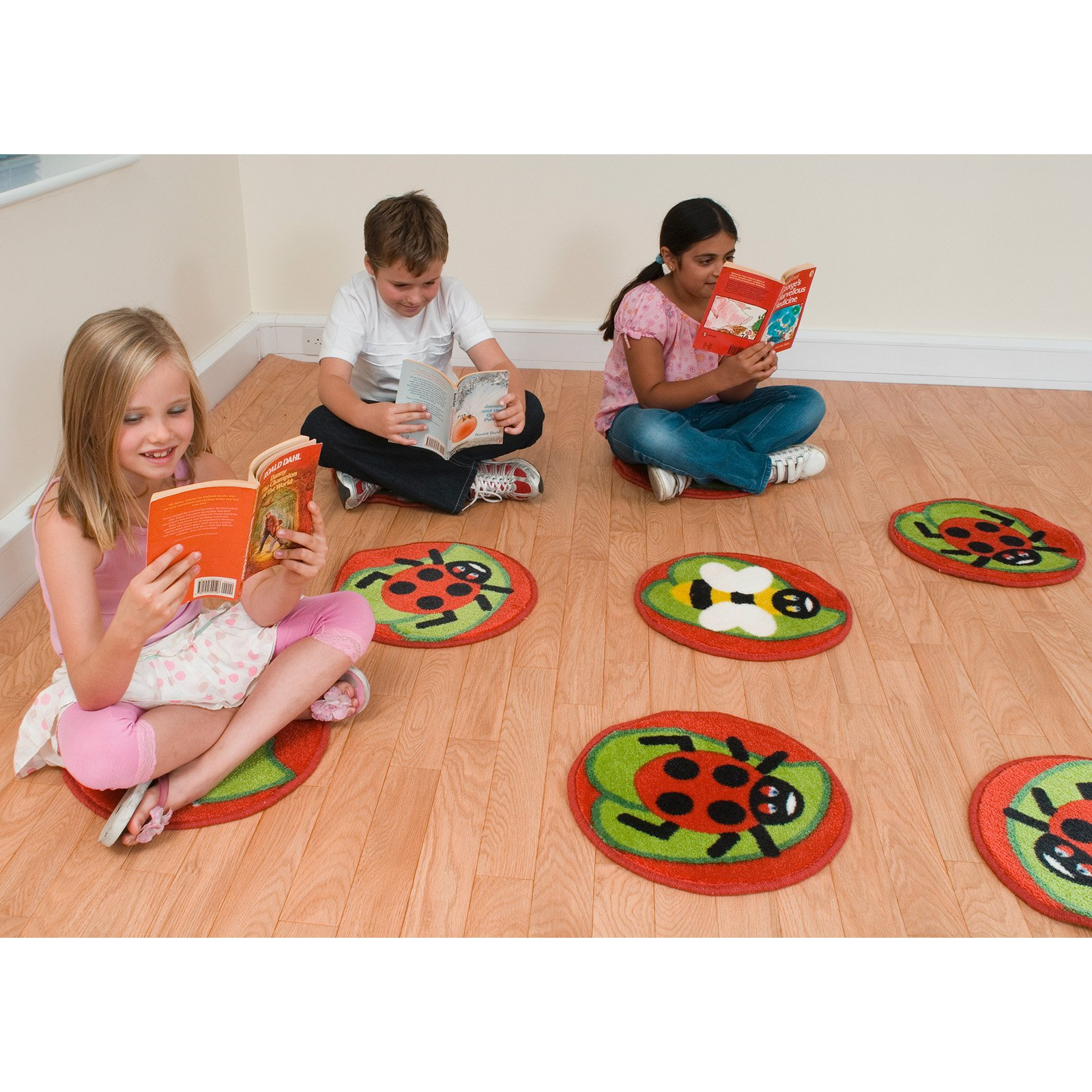 Kalokids Back to Nature Bug Mini Placement Carpets with Carryall