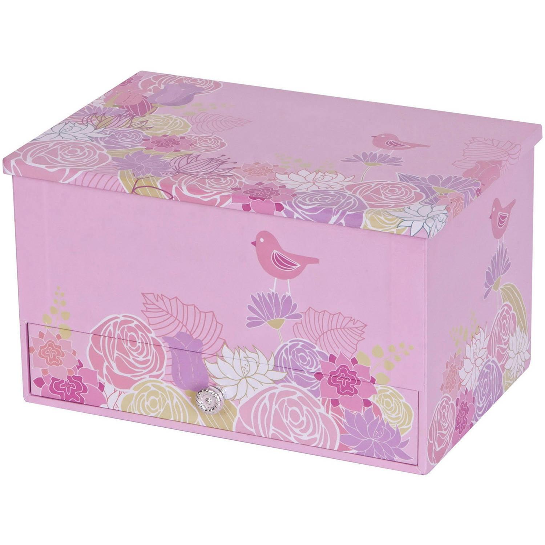Mele amp Co Elise Girls Wooden Musical Ballerina Jewelry Box