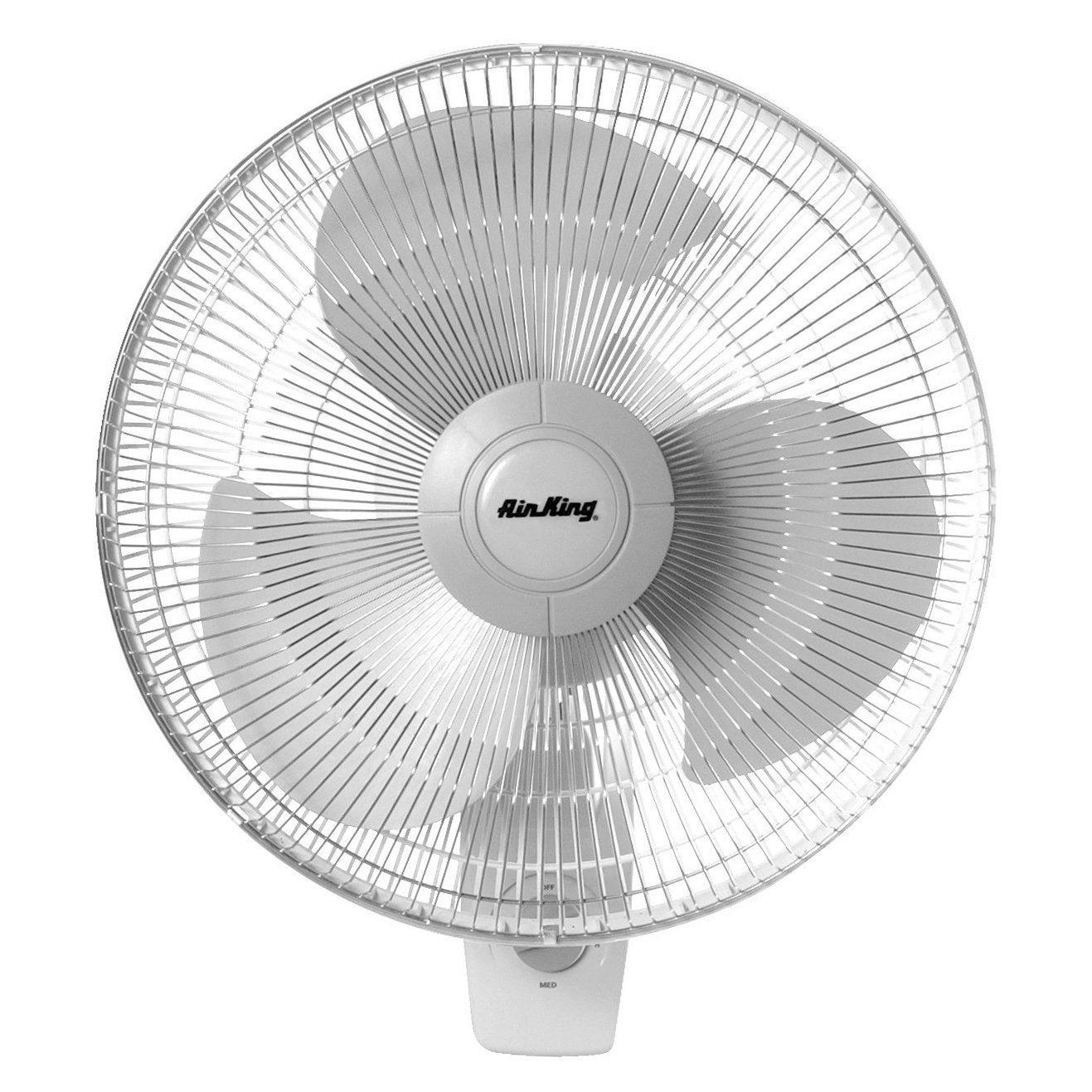 Air King 9016 16 Inch Commercial Grade Oscillating 3 Blade Wall Mount Fan 9016