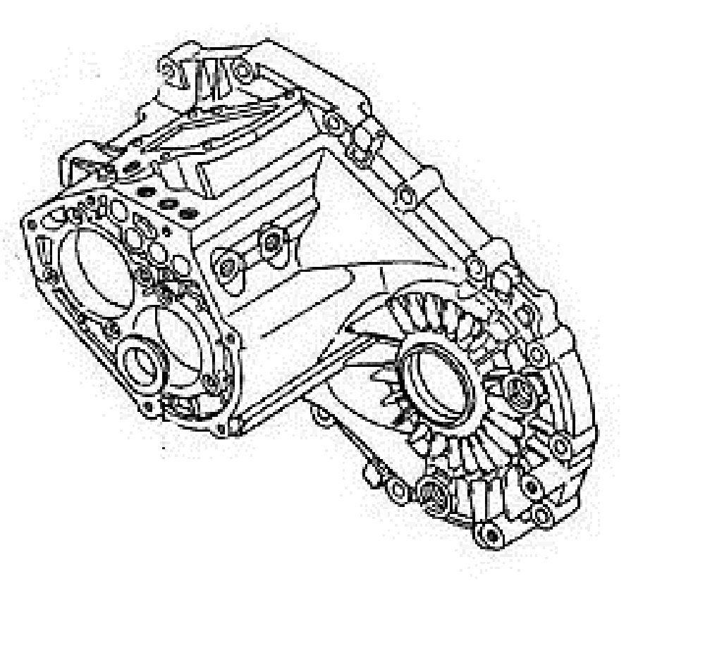 Gm Transmission Case Part Number 97101479 Gm Vehicles 5 Speed