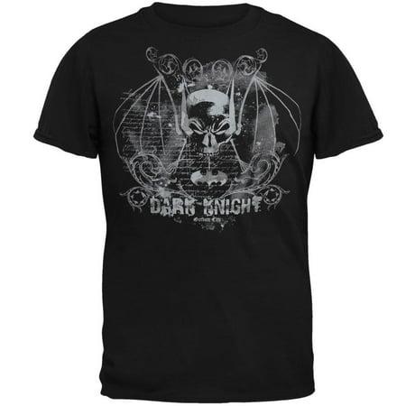 Batman - Dark Knight Skull Soft T-Shirt - Skull Knight