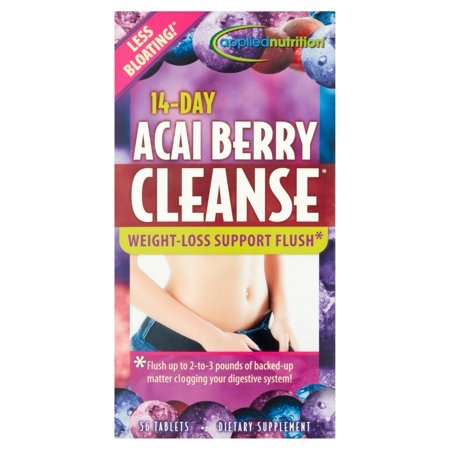 Acai Berry Cleanse suplemento, 56ct