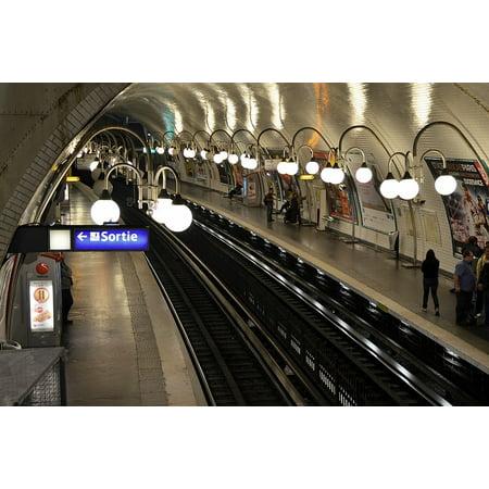 Framed Art for Your Wall Subway Transit Metro Train Transportation Travel 10x13 Frame