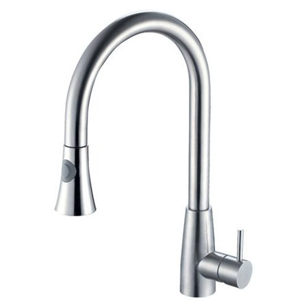 Image of ALFI AB2034 Single Handle Pull Down Kitchen Faucet