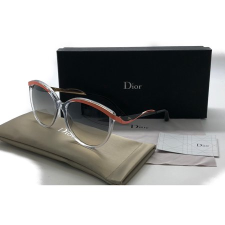 Christian Dior Metaleyesl 6ociz Clear Gradient Authentic Sunglasses (Sun Glasses Dior)