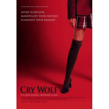 The Wolf Of Wall Street Halloween Costume (Cry Wolf POSTER (27x40) (2005) (Style)